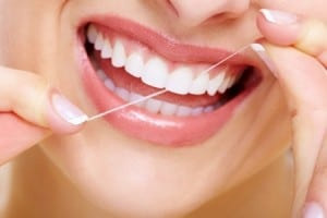 Flossing during Invisalign treatment