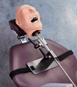 Dental Care training Mannequin with chair mount