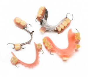 Dentures used by cosmetic dentists