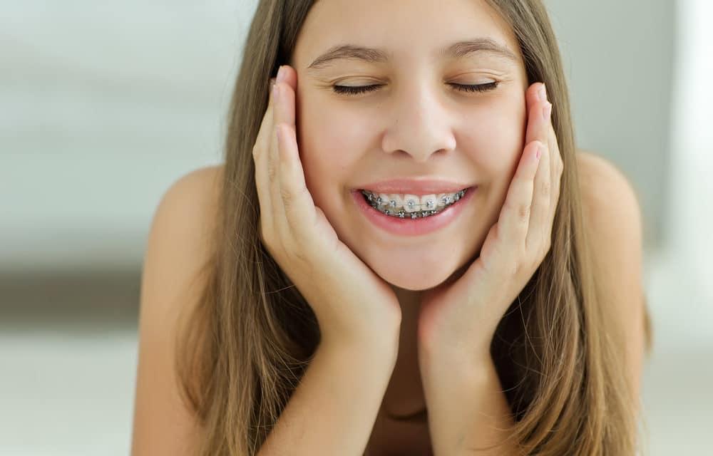 Teen girls braces, naked vanity
